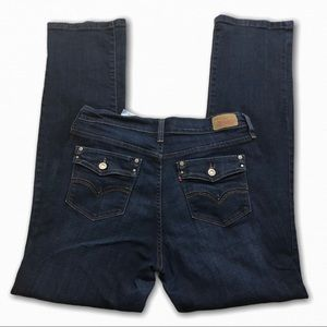 Levi's 505 straight leg style size 10 booty jeans
